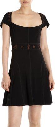 Vena Cava Cap Sleeve Tulip Dress Sale up to 60% off at Barneyswarehouse.com