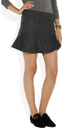 Isabel Marant Freja merino wool-felt mini skirt