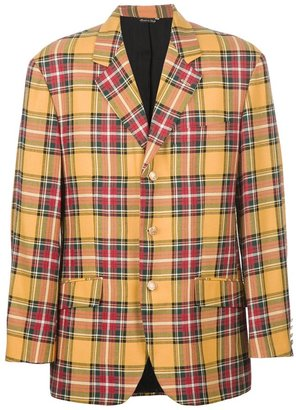 Moschino Cheap & Chic Vintage checked jacket