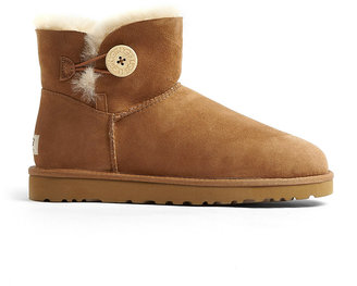 UGG Chestnut Mini Bailey Button Boots