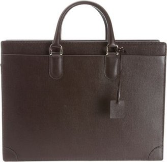 Barneys New York Two Compartment Briefcase