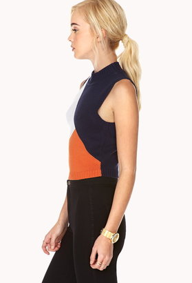 Forever 21 Retro Cropped Sweater