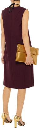 Marni Double-faced wool-crepe dress