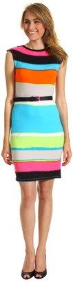 Calvin Klein Rayon Span Dress (Multi) - Apparel