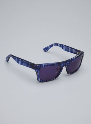Phillip Lim Ladies Navy Iha Plastic Frame Sunglasses