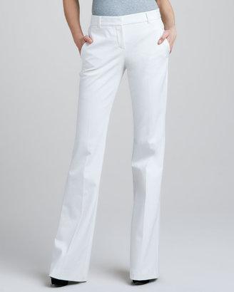 Theory Juliena Tailored Pants, White