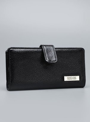 Kenneth Cole Reaction Tab Close Checkbook Cover Wallet