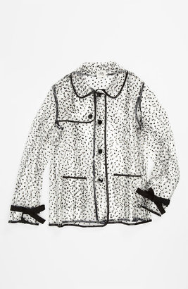 Milly Minis Piped Raincoat (Little Girls & Big Girls)