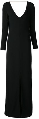 ADAM by Adam Lippes back chain gown