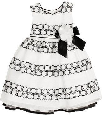 Bonnie Jean Kids Dress, Little Girls Embroidered Circle Dress