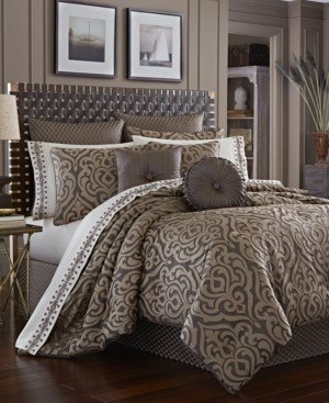 J Queen New York Astoria California King 4-Pc. Comforter Set Bedding
