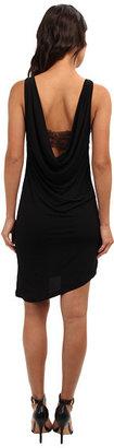 BCBGeneration Sleeveless Round Neck Cowl Back Dress