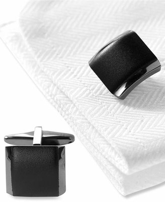 Kenneth Cole Reaction Cufflinks, Polished Hematite Boxed Set $40 thestylecure.com