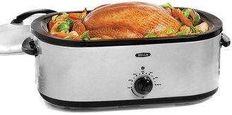 B.ella 18-qt. Stainless Steel Turkey Roaster Oven