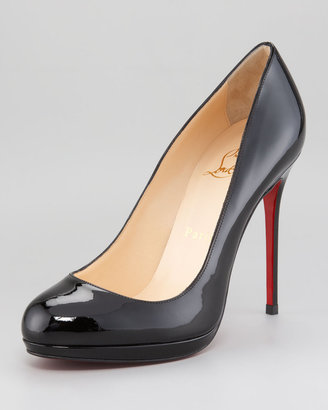 Christian Louboutin Filio Platform Red Sole Pump