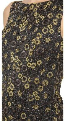 Rochas Sleeveless Floral Dress