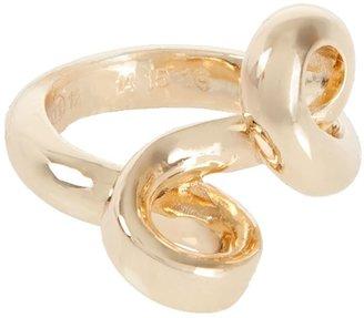 Maison Margiela twisted brass ring