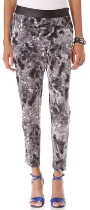 Yigal Azrouel Cut25 by Slouchy Jersey Pants