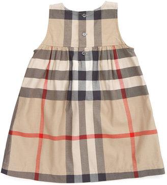 Burberry Check Sleeveless Dress