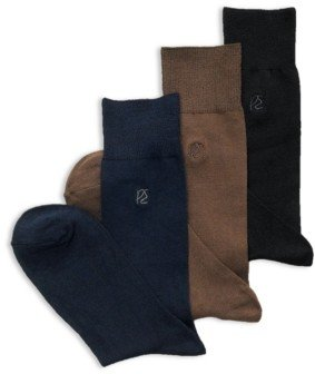 Perry Ellis Men's Socks, Rayon Dress Sock Single Pack