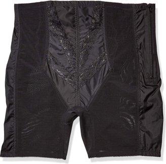 Rago Women's Plus-Size Extra Firm Zippered High Waist Long Leg Shaper (XX)