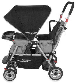 Joovy Caboose Too Ultralight Stand-On Tandem Stroller - Charcoal
