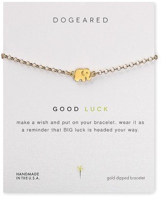 Dogeared Good Luck Elephant Bracelet