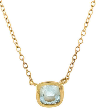 Janna Conner Fine Jewelry Florent Aquamarine Necklace