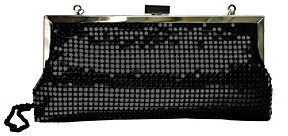 La Regale Mesh Clutch