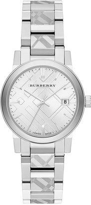 Burberry Women's Swiss Stainless Steel Bracelet Watch 34mm BU9144 $595 thestylecure.com