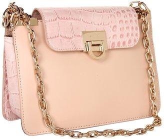 Ivanka Trump Rebecca Double Shoulder Flap (Blush) - Bags and Luggage