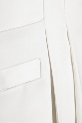 Balmain Pleated wool-blend pants