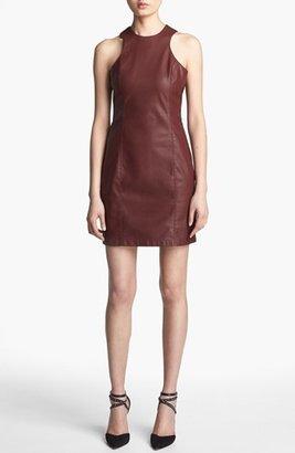 BB Dakota 'Simon' Faux Leather Dress