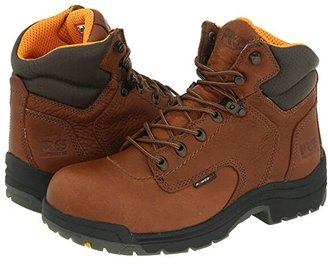 Timberland TITAN(r) 6 Alloy Safety Toe (Coffee Full-Grain Leather) Women's Work Boots