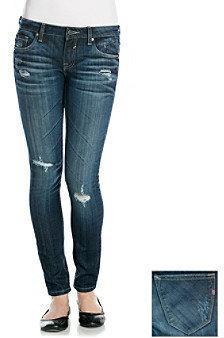 Vigoss Destructed Rollcuff Tomboy Skinny Jeans