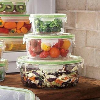 Sur La Table Kinetic Go Green GlassLock Food Storage-Round, Set of 3