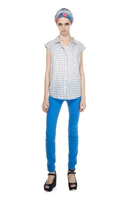 Marc by Marc Jacobs Tiffany Check Top