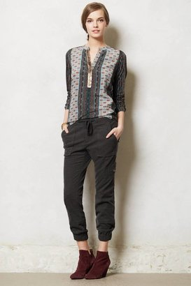 Anthropologie Banded Cargo Pants