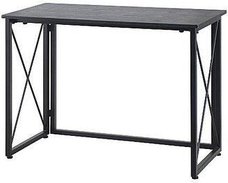 JCPenney Victoria Computer Desk Black/Walnut