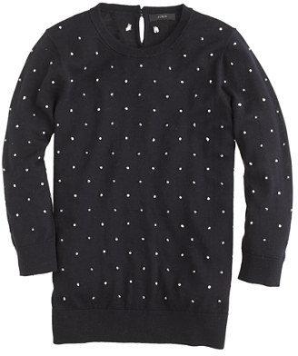 J.Crew Merino Tippi sweater in French knot