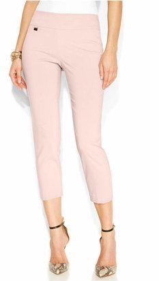 Alfani Tummy-Control Pull-On Capri Pants