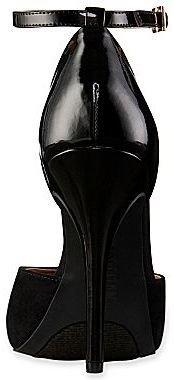 PeepToe Cosmopolitan Ingrid Ankle-Strap Peep-Toe Pumps