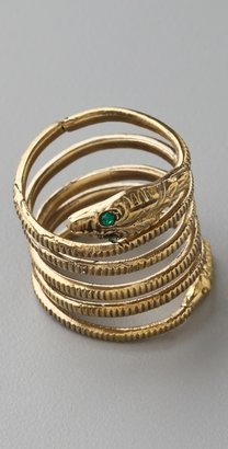 Alkemie Jewelry Coiled Snake Ring