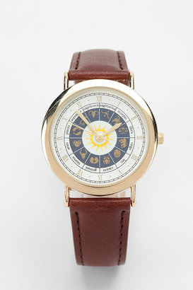 Urban Outfitters Horoscope Leather Watch
