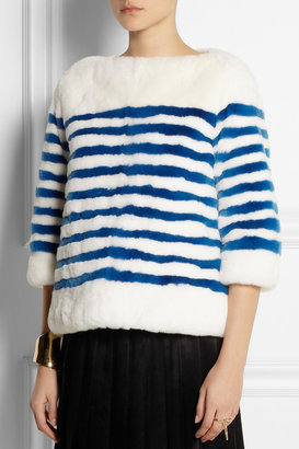 Marc Jacobs Reversible striped rabbit top