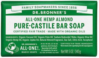 Dr. Bronner's All-One Hemp Pure-Castile Soap Bar Almond