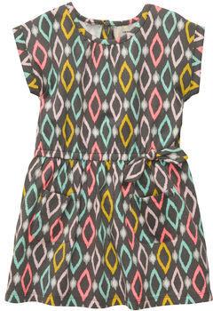 Carter's Short-Sleeve Print Jersey Dress