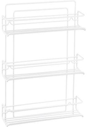 Container Store 3-Shelf Wire Spice Rack White