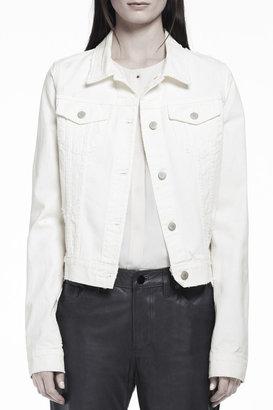 J Brand 403 Destructed Slim Jacket