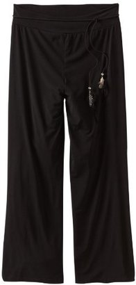 Amy Byer Girls 7-16 Plus-Size Knit Feather Belt Pant
